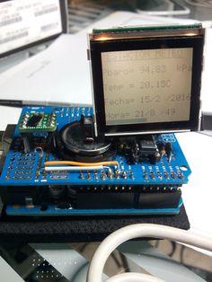 Pressure and temperature Arduino indicator