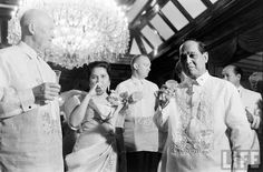June 14, 1960: US President Dwight D. Eisenhower arrived in Manila for a State Visit-  first ever by any US President!