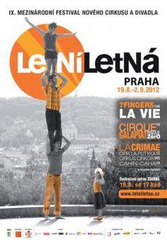 Letní Letná - Outdoor contemporary circus and theater festival