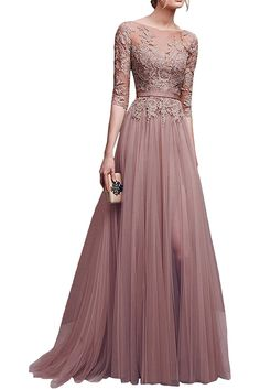 Indian Gowns Dresses, Indian Fashion Dresses, Prom Dresses With Sleeves, Evening Dresses, Dress Brukat, Hijab Dress Party, Long Gown Dress, Stylish Dresses, Elegant Dresses
