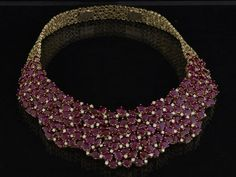 Varuna D Jani: This necklace by Varuna D Jani, is made of 18 carat yellow gold and studded with rubies and round brilliant cut diamonds. With the right amount of sparkle andsheen, it\'s a great idea for this festive season.Available at the Varuna D Jani store in Mumbai; Price: on request.