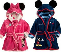 Online Shop SY0001, 2014 Children's Pajamas robe kids Micky minnie mouse Bathrobes Baby homewear Boys girls Cartoon Home wear retail|Aliexpr...