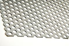"""0.125"""" (0.5"""" HOLES-0.6875"""" STAGGER) ALUMINUM PERFORATED SHEET 3003-H14"""