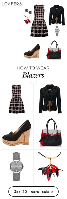 """Work Flow"" by nadia-n-pow on Polyvore featuring Karen Millen, Burberry, Belpearl and Marni"