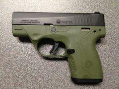 My new gun! Beretta Nano 9mm - www.rgrips.com/... Prefer a .40 though