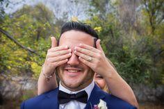 Wedding Photography, first look, bride & groom