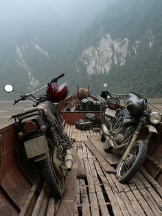 Travel by motorcycle to non tourist places