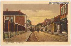 Hoofdstraat (met tramrails), Sassenheim (1940-1960)