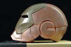 Iron Man Helmet, Combat Armor, 3d Printing Materials, Living Under A Rock, 3d Puzzles, Sculpting, Superhero, Prints, Print Ideas