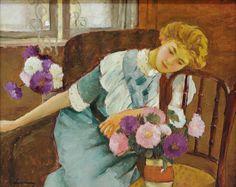 "spoutziki-art: "" Lorica with Chrysanthemums - Stefan Luchian, 1913 "" Paul Cézanne, Camille Pissarro, Mary Cassatt, Pierre Auguste Renoir, Art And Illustration, Illustrations, Monet, Photoshop Pics, Amazing Paintings"