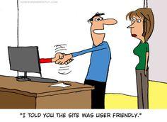 User friendly!