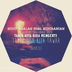 Quote, Soe Hok Gie, 1