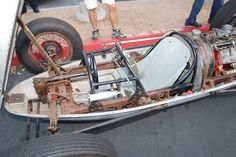 belly tankers | Bonneville belly tanker_w/ bodywork removed_ Cars&Coffee_October 6 ...