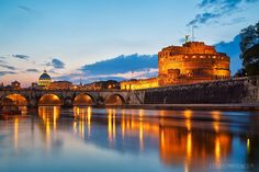 Photograph Castel Sant'Angelo - Rome (IT) by Cédric Mayence on 500px