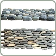 SALEPRICE: $8.00  Design 4 less  Normally priced at $10.00 per 4x12 Pebble Mosaic Sheet Min order of 15 pieces 3 tiles =1 SQ FT