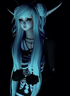Shadow room In Imvu. My Elf avi. ~Shanenarstarrz
