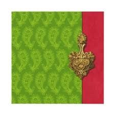 pink and green indian wedding invitations - colours are so nice together!