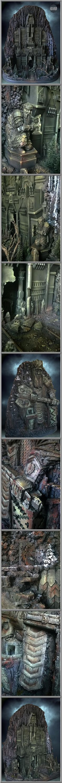 Dwarves, Erebor, Lord Of The Rings, Terrain, Wargames, Warhammer Fantasy