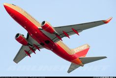 Southwest Airlines N792SW Boeing 737-7H4 aircraft picture