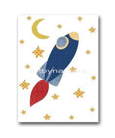 Coche plano del cohete tren bebé niño vivero decoración conjunto niños arte impresión bebé vivero vivero de impresión impresión de 4 bebé amarillo gris azul regalos sala de juegos decoración arte  SIN MARCO - ESTA IMPRESIÓN ES EN PAPEL O EN LIENZO *** 866 871 1174 1236  Para volver a mi tienda, haz clic aquí: http://www.etsy.com/shop/artbynataera  Juego de 4 impresos en pulgadas. Hay un borde extra 1/8 pulgadas blanco alrededor de la impresión para facilitar el encuadre. IMPORTANTE: Se trata…