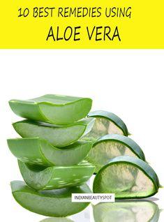 10 best DIY remedies using aloe vera