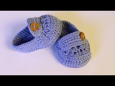 Tutorial I Mocasines de bebe / cucaditasdesaluta - YouTube