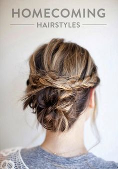 The ultimate Homecoming hairstyles for girls with long hair. Click to discover this collection.