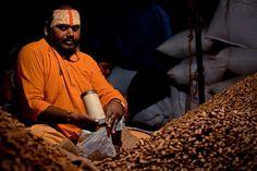 Peanut Vendor by Amith Nag