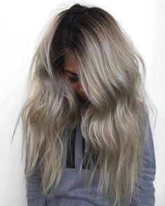 * Formulas >>> Gorgeous Balayage + Stretched Root - Behindthechair.com