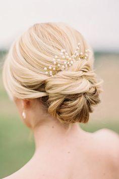 An elegant bridal updo. an elegant bridal updo. an elegant wedding hairstyle Bride Hairstyles For Long Hair, Up Hairstyles, Pretty Hairstyles, Bridal Hairstyles, Bridesmaids Hairstyles, Hairstyle Ideas, Hollywood Hairstyles, Glamorous Hairstyles, Summer Wedding Hairstyles