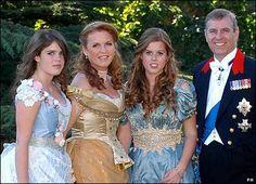 Princess Eugenie, The Duchess of York, Princess Beatrice and the Duke of York