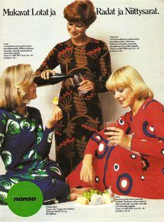 70-luvulta, päivää !: vaatteet/asusteet