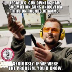 Legal US Gun Owners Meme