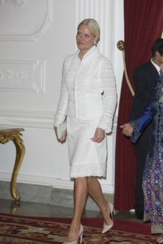 MYROYALS  FASHİON: CROWN PRİNCE HAAKON AND CROWN PRİNCESS METTE MARİT VİSİT TO İNDONESİA- DAY 1