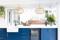 Home Renovation Design and Styling: Northern Beaches — Heliconia Boutique Interior, A Boutique, Small Bathroom Paint Colors, Kitchen Cabinetry, Modern Bathroom Design, Open Plan Living, Modern Decor, Modern Coastal, Home Renovation