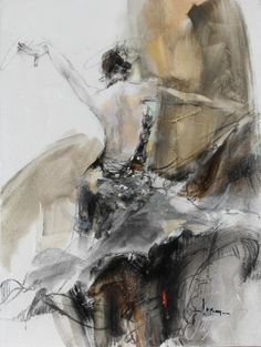 Anna Razumovskaya- Spanish Heat II, Anna very much catches the lyrical romanticism of renaissance portraiture. Anna has really captured the movement and texture of the material.