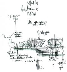arquitectura + historia: Renzo Piano: Croquis para Pensar, para Diseñar, para Sintetizar