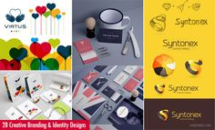 50 Creative Branding and Identity Design examples for your inspiration. Read full article: http://webneel.com/creative-branding-design-inspiration | more http://webneel.com/logo-design | Follow us www.pinterest.com/webneel