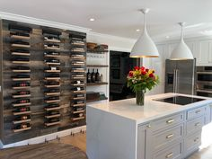 The models from Buoyant Wine Storage LLC are single column wall mounted cable wine rack and holds 12 bottles of wine. Old Kitchen, Kitchen Decor, 1950s Kitchen, Kitchen Ideas, Kitchen Sinks, Cheap Kitchen, Vintage Kitchen, Kitchen Island, Kitchen Cabinets