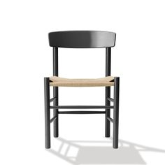 chair, chairs, j39, børge mogensen, dining chair, dining chairs, fredericia furniture, 3236, model 3236, black chairs, black chair