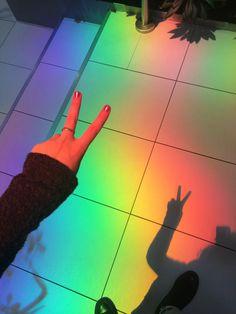 Rainbow Aesthetics Aesthetic  Love