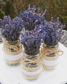 Diy Wedding, Wedding Flowers, Dream Wedding, Lavender Decor, Lavander, Vintage Vases, Diy And Crafts, Wedding Decorations, How To Make