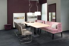 Dinegra Esstisch mit Mittelfuß by Christine Kroencke interior design GmbH