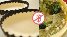 Masa Brisé Sin Gluten Gluten Free Crust, Gluten Free Muffins, Gluten Free Cakes, Gluten Free Baking, Vegan Gluten Free, Dairy Free Recipes, Paleo Recipes, Light Pasta, Cheesecake