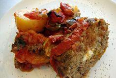 Φανταστικό μπριάμ ρολάτο! Meatloaf, Food, Essen, Meals, Yemek, Eten