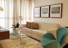 Decoração: Sala com Toque de Turquesa - Blog da Fran