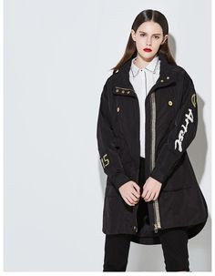 """Our 2017 Fall collection presents Limited edition coat """"Steal Like An Artist"""". In Japanese and Korean Fashion style. Sale when applied unique code from frontage. Jacket 2017, Fall Collections, Woman Fashion, Jacket Style, Trench, Military Jacket, Raincoat, Clothes For Women, Trending Outfits"""