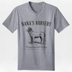 Nana's Nursery V-Neck Tee