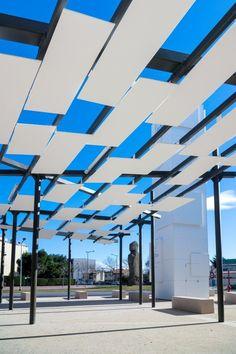 KRION® Blog – Porcelanosa Solid Surface » Butech y KRION® en el centro de empleo Le Grand Narbonne, Francia