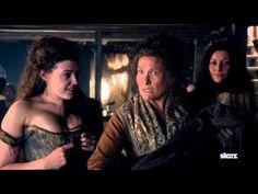 Sam Heughan's Favorite Outlander Moments- Wedding Dress - YouTube